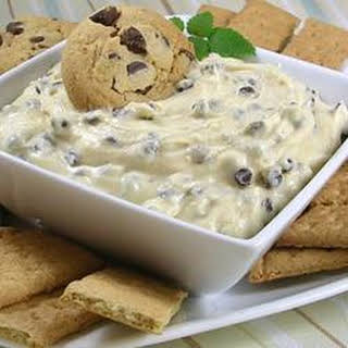 Holly's Chocolate Chip Cookie Dough Dip.