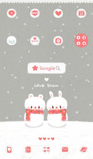 love snow 도돌런처 테마