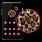Go Launcher Theme Pink Leopard icon