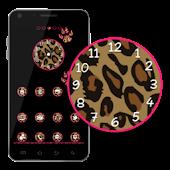 Go Launcher Theme Pink Leopard