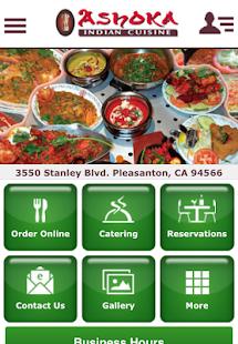 Ashoka indian cuisine android apps on google play for Ashoka indian cuisine pleasanton