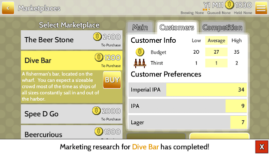 Fiz : Brewery Management Game- screenshot thumbnail