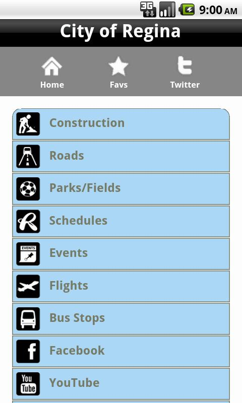 City of Regina CityApp - screenshot