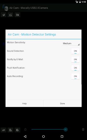 Air Cam Live Video Screenshot