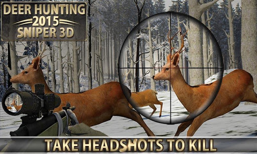 Deer Hunting u2013 2015 Sniper 3D  {cheat|hack|gameplay|apk mod|resources generator} 1
