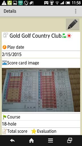 Golf Score Management Photo 1.5.0.3 Windows u7528 2
