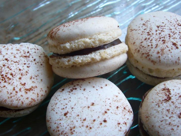 Chocolate Orange Ganache Macaroon Cookie Sandwiches Recipe