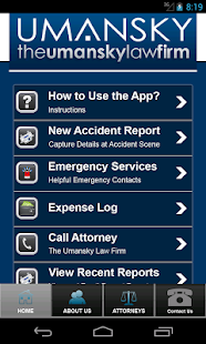 Umansky Accident and DUI  App- screenshot thumbnail
