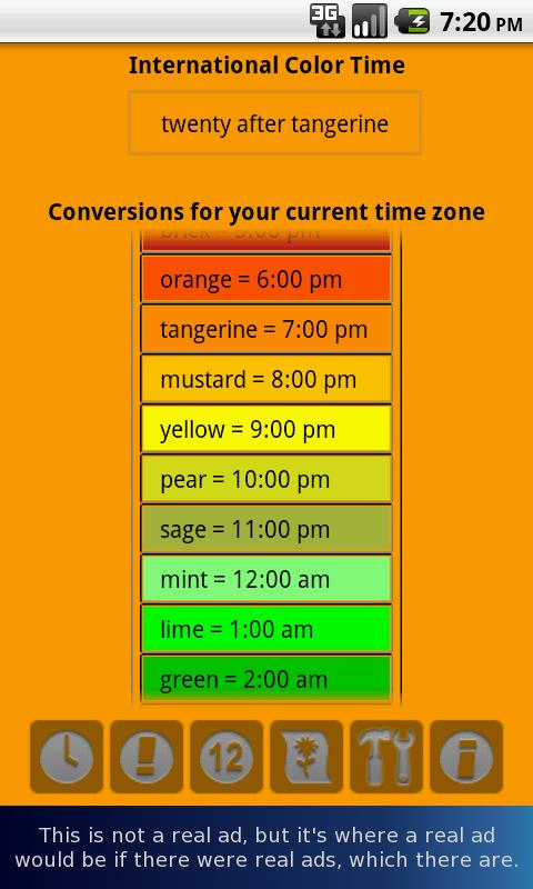 Color Time Clock Lite- screenshot