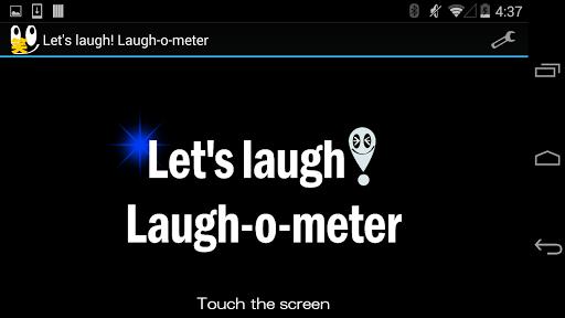 Let's laugh Laugh-o-meter
