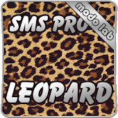 Leopard GO SMS Pro theme