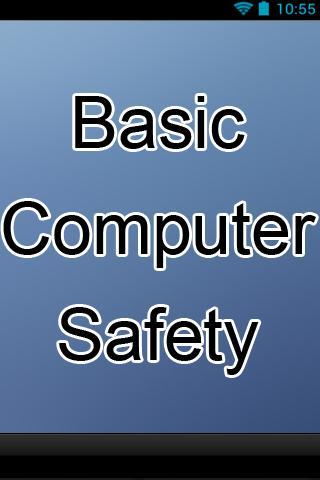 Basic Computer Safety