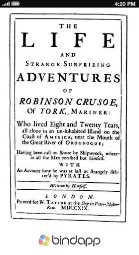 ebook Robinson Crusoe