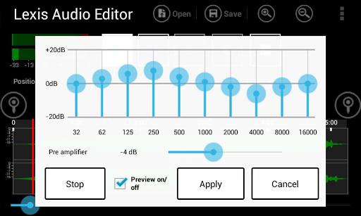 Lexis Audio Editor 1.0.70 screenshots 4