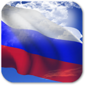 3D Russia Flag Live Wallpaper+