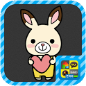 Choco rabbit Choki sticker icon