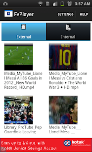 FVPlayer-floating video player Screenshot