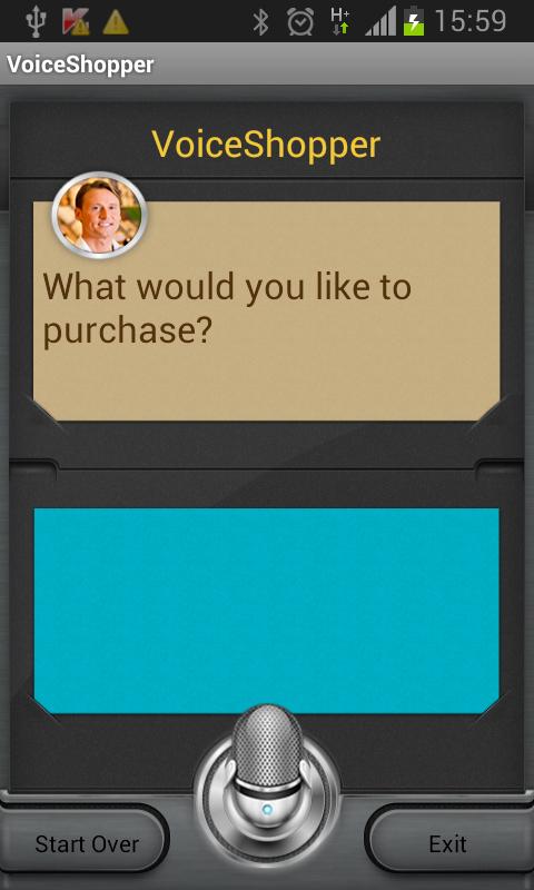 VocalCart™ - Voice Shopping - screenshot