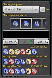 Andro Lotto IE- screenshot thumbnail