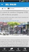 Screenshot of El Pais Uruguay (Teléfonos)