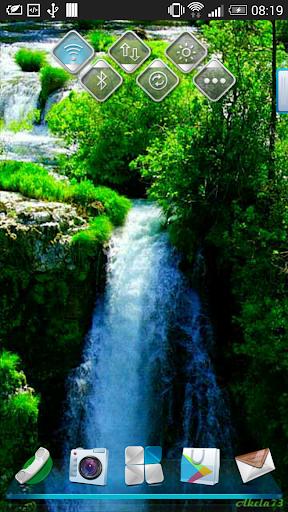 Wonderful Waterfall LWP