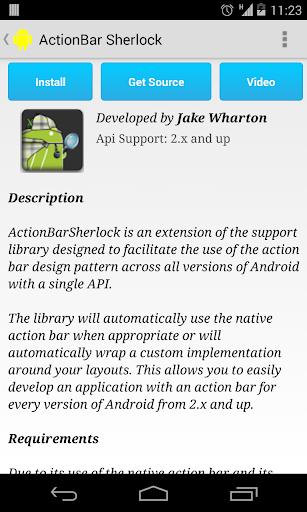 玩免費程式庫與試用程式APP|下載Open Source Libraries app不用錢|硬是要APP