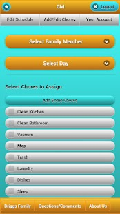 Chore Management- screenshot thumbnail