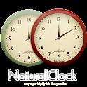 ナチュラルなアナログ時計ウィジェット1