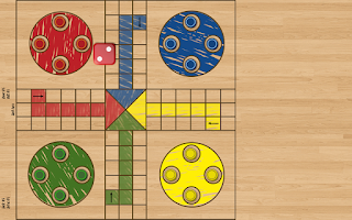 Screenshot of Ludo Parchis Classic Woodboard