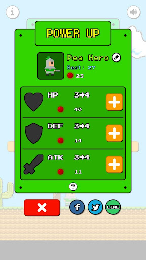 Pea Hero: Dragon Land