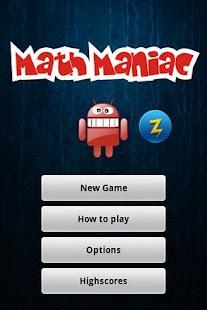 Math Maniac - screenshot thumbnail