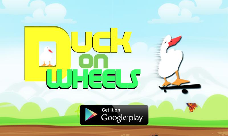 Duck On Wheels - screenshot