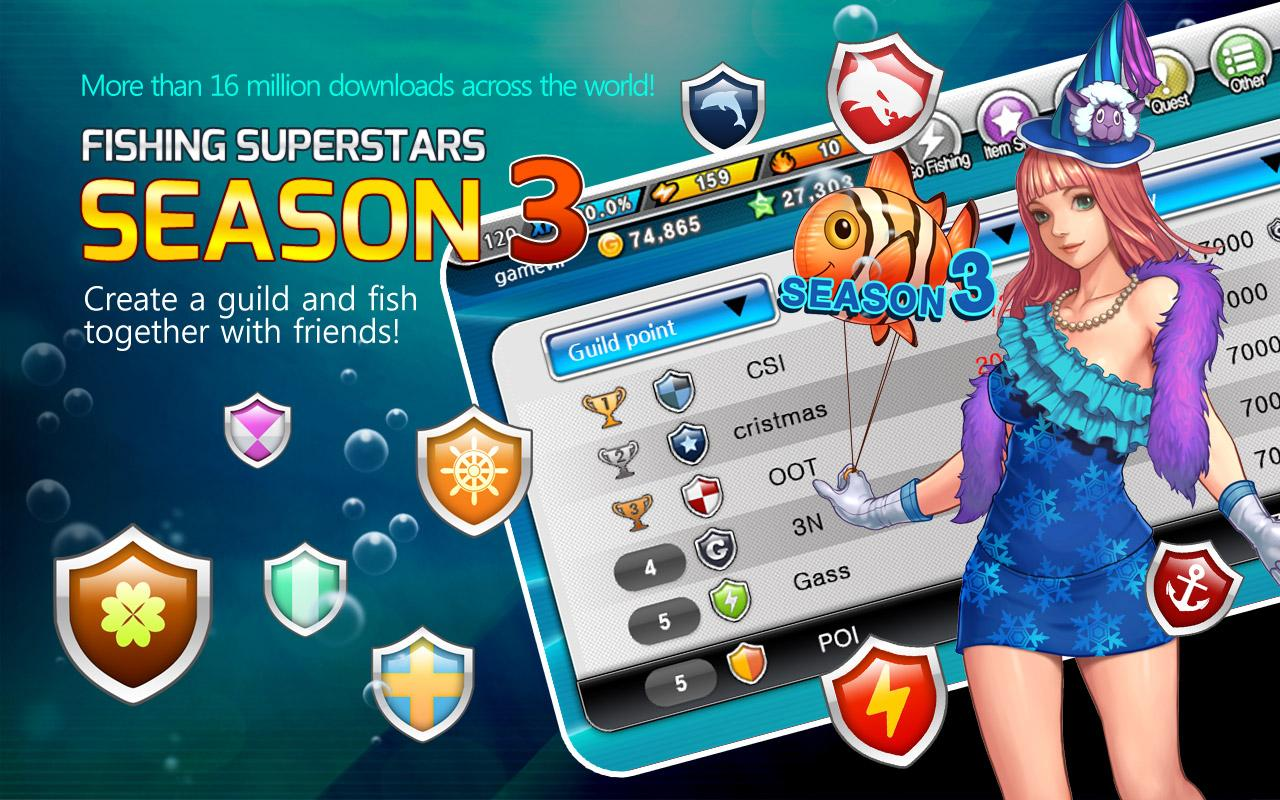 Fishing Superstars : Season3- screenshot