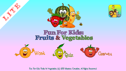 Fun4Kids: Fruits Veggies Lite