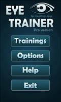 Screenshot of Eye Trainer Pro