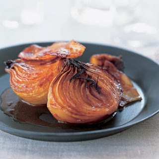 Molasses-Baked Onions