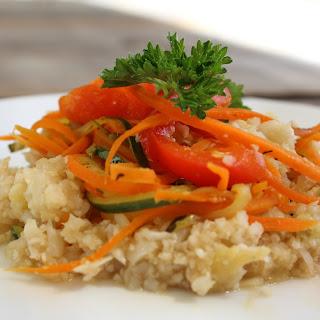 Cauliflower Rice Stir-fry.