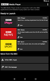 BBC Media Player Screenshot 1