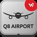 Q8 Airport logo