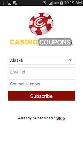 Casino Coupons