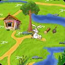 Fun Bunny Adventure mobile app icon