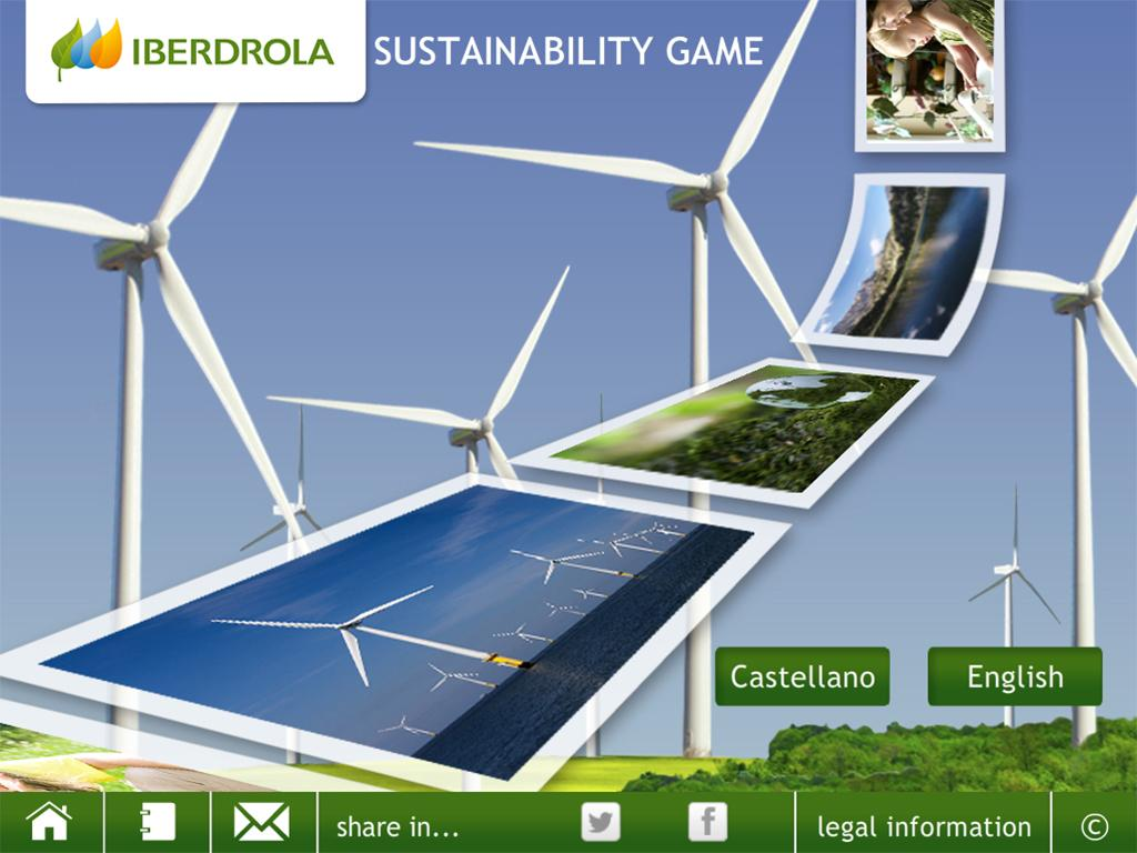 IBERDROLA Sustainability Game - screenshot