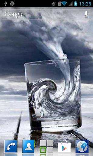 Clouds in a glass LWP