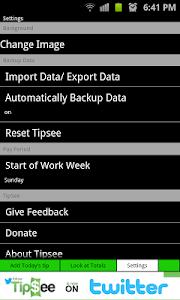 Tip Tracker - TipSee FREE v1.6.23