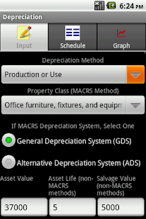 Depreciation Calculator Pro - screenshot thumbnail