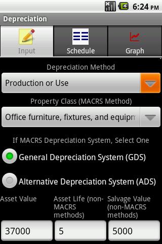 Depreciation Calculator Pro - screenshot