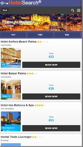 HotelSearch - Reservations