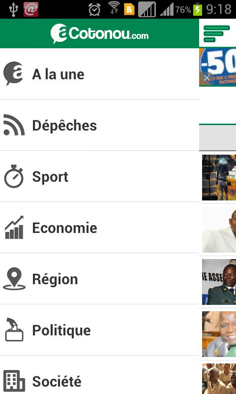 aCotonou.com- screenshot