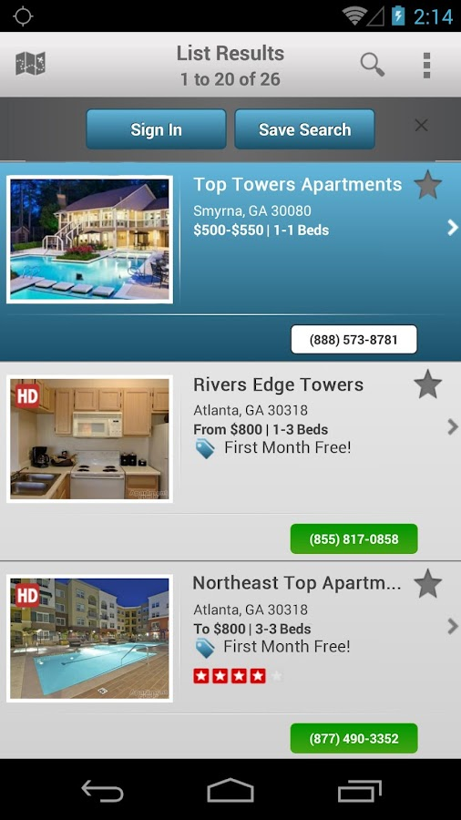 Apartments by Apartment Guide - screenshot