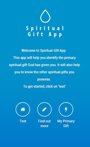 Spiritual Gift App